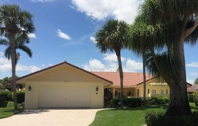 Boca Raton Single Family Home For Sale: 6772 E Villas Drive