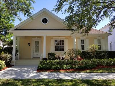 Jupiter Single Family Home For Sale: 114 Sycamore Drive