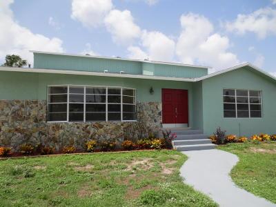 Boynton Beach Single Family Home For Sale: 5134 Little Beth Drive