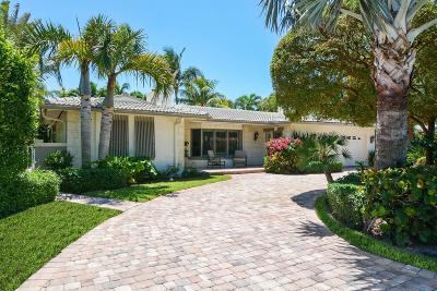 Jupiter Inlet Colony Single Family Home For Sale: 232 Cove Place