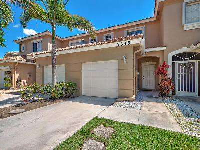Lake Worth Townhouse Contingent: 7345 Smithbrooke Drive