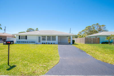 Jupiter Single Family Home For Sale: 1503 Summer Avenue