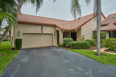 Boca Raton Single Family Home For Sale: 23379 Water Circle