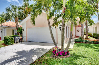 Delray Beach Single Family Home For Sale: 4784 Lakeland Drive