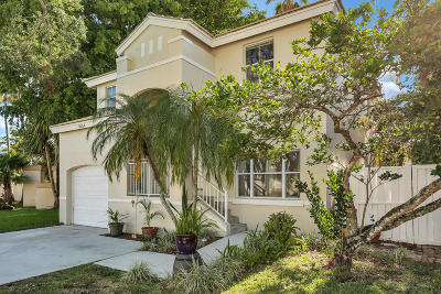 Margate Single Family Home Contingent: 3054 Palm Place