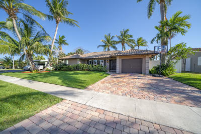 Boca Raton Single Family Home For Sale: 1018 SW 12th Street