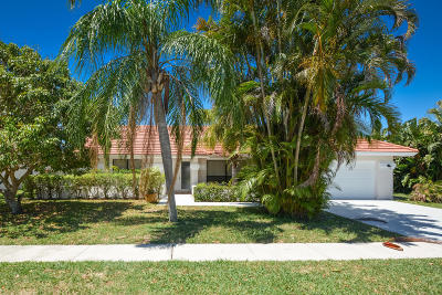 Boynton Beach Single Family Home For Sale: 9393 Laurel Green Drive