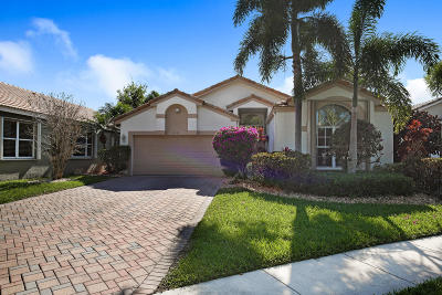 Boynton Beach Single Family Home For Sale: 10262 Utopia Circle W
