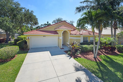 Jupiter Single Family Home For Sale: 1131 Egret Circle S