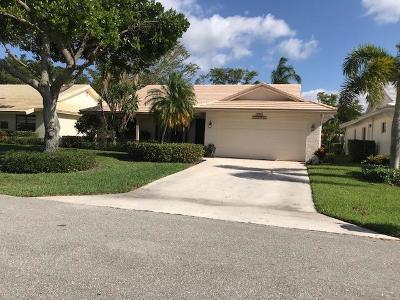 Boca Raton Single Family Home For Sale: 6533 Casabella Lane