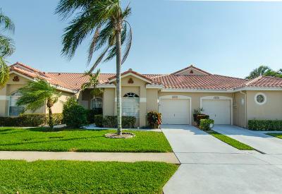 Boynton Beach Single Family Home For Sale: 6272 Long Key Lane