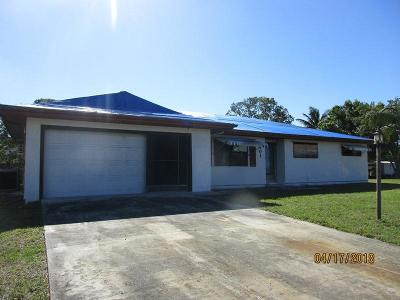 Port Saint Lucie Single Family Home Contingent: 501 SW Curtis Street