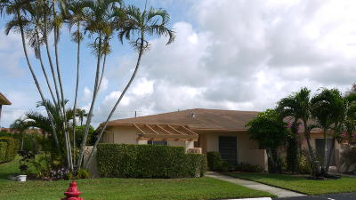 Delray Beach Single Family Home For Sale: 5801 Areca Palm Court #A