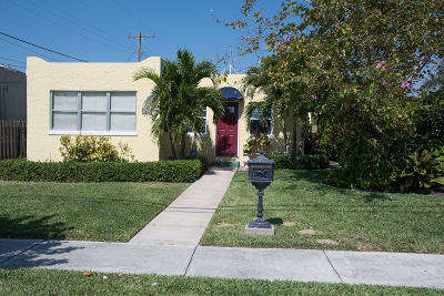 West Palm Beach Single Family Home For Sale: 4809 Garden Avenue