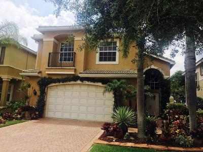 Boynton Beach Single Family Home For Sale: 11555 Rock Lake Terrace