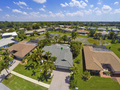 Boca Raton Single Family Home For Sale: 19800 Back Nine Drive