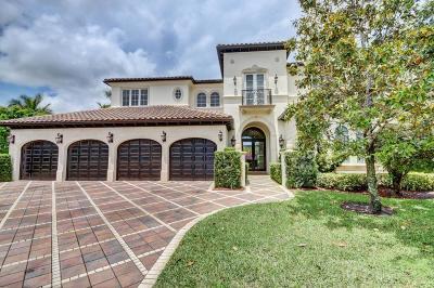 Boca Raton Single Family Home For Sale: 9693 Bridgebrook Drive