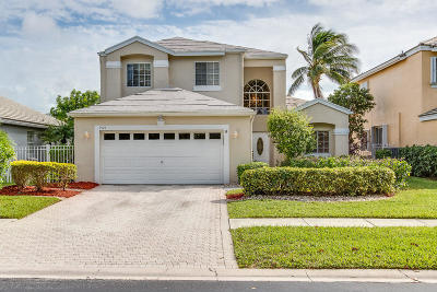 Boca Raton Single Family Home For Sale: 7925 Travelers Tree Drive Drive