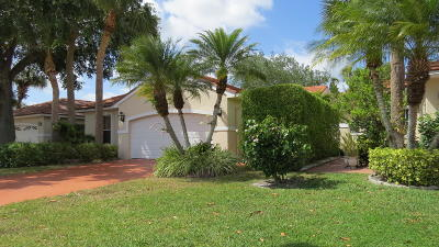Wellington Single Family Home For Sale: 2663 Country Golf Drive