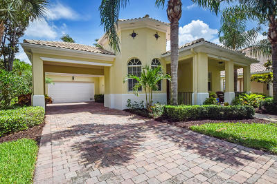 Jupiter Single Family Home For Sale: 4015 Community Drive