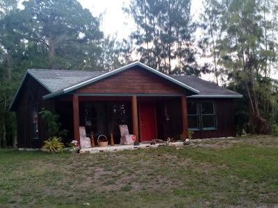 Loxahatchee Single Family Home For Sale: 17244 40th Run