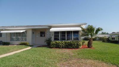 Boynton Beach Single Family Home For Sale: 195 South Boulevard #D