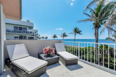 Palm Beach Shores Rental For Rent: 150 Inlet Way #7