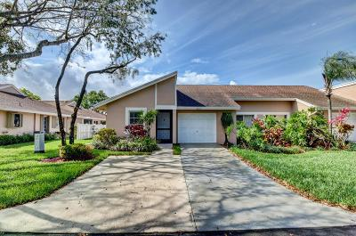 Boca Raton Single Family Home For Sale: 8212 Sweetbriar Way