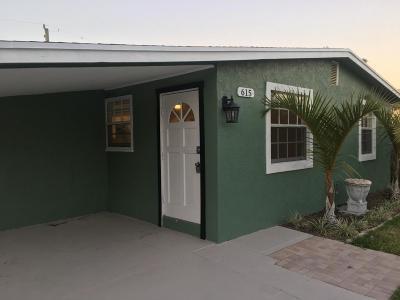 West Palm Beach Single Family Home For Sale: 615 El Prado