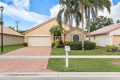 Delray Beach Single Family Home Contingent: 7842 Stirling Bridge Boulevard S