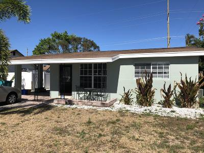 Boynton Beach Single Family Home For Sale: 614 NW 7th Street