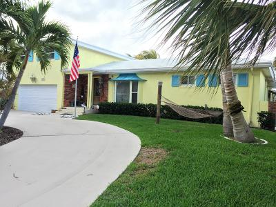 Palm Beach Shores Single Family Home Contingent: 207 Blossom Lane