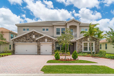 Royal Palm Beach Single Family Home For Sale: 8958 Cypress Grove Lane