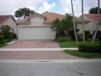 Boynton Beach Single Family Home For Sale: 9770 Harbour Lake Circle