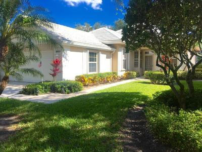Palm Beach Gardens FL Single Family Home For Sale: $384,900