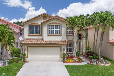 Boynton Beach Single Family Home For Sale: 7706 Colony Palm Drive
