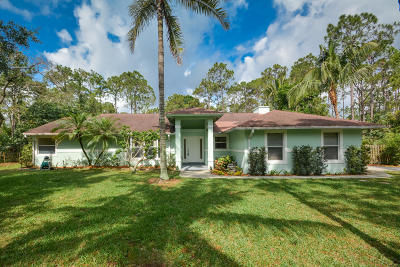 Jupiter Single Family Home For Sale: 16219 130th Avenue
