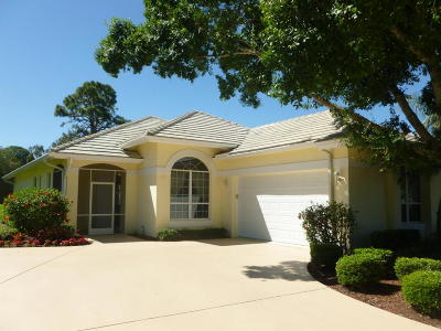 Port Saint Lucie Rental For Rent: 7306 Marsh Terrace