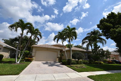 Boynton Beach Single Family Home For Sale: 11318 Barca Boulevard