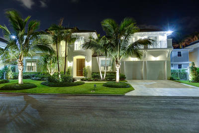 West Palm Beach Single Family Home For Sale: 129 Santa Lucia Drive