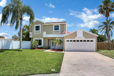 Boca Raton Single Family Home For Sale: 9907 Moss Pond Drive