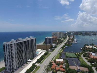 Boca Raton Condo For Sale: 250 S Ocean Boulevard #Ph-E