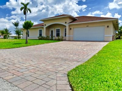 West Palm Beach Single Family Home For Sale: 550 Easy Street