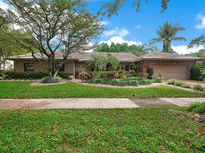 Boca Raton Single Family Home For Sale: 2420 NW 40th Circle