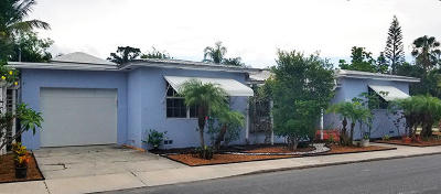 Lake Worth Single Family Home For Sale: 1630 S Lakeside Drive