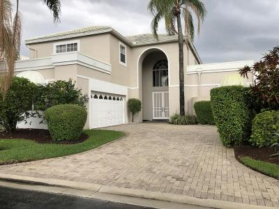 Boca Raton Single Family Home For Sale: 5443 Ascot Bend