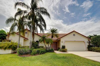 Boca Raton Single Family Home For Sale: 10390 Camelback Lane