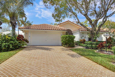 Boynton Beach Single Family Home For Sale: 4560 Catamaran Circle
