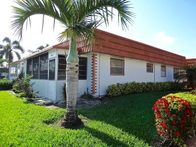 Delray Beach Single Family Home For Sale: 148 Waterford G