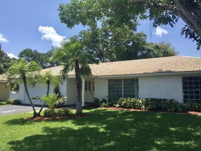 Coral Springs Single Family Home For Sale: 8726 NW 19th Drive